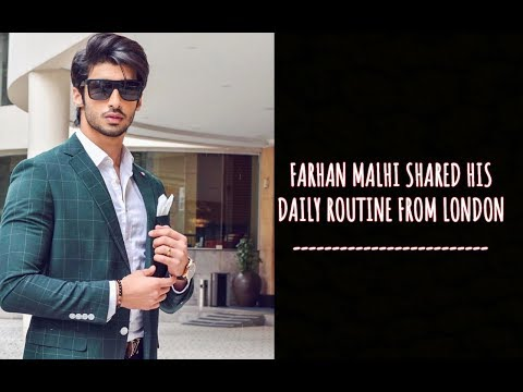 Farhan Malhi Shared His Daily Routine Breakfast Smoothie Recipe From London