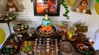 Lion KIng First Birthday Party via Little Wish Parties childrens party blog