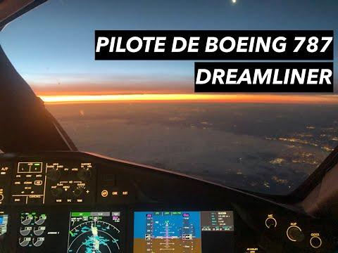 De 500 € par mois à Pilote de Boeing 787 Dreamliner - Mon histoire (jets privés et compagnies aériennes)