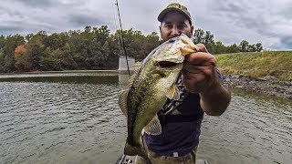 Video Fall Bass Fishing (Power Fishing with the Nasty's Thumper!!!) Vibrating Jig MP3, 3GP, MP4, WEBM, AVI, FLV Mei 2019