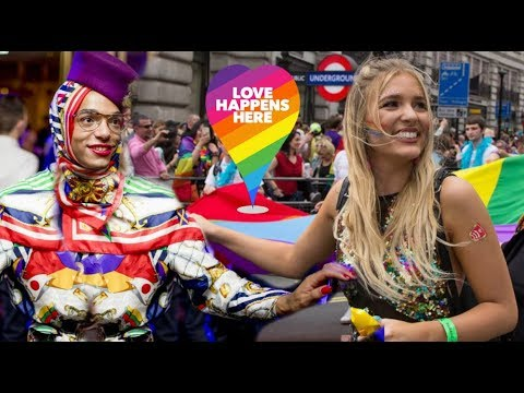 London's Pride Parade 2018 Love Happens Here