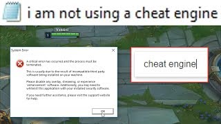 If you type 'Cheat Engine' in Google your League of Legends will crash