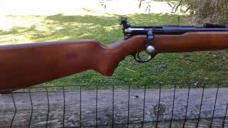 Mossberg 42M (C) Bolt Action .22 Rifle made in 1940'S