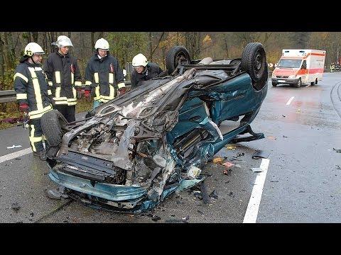 Herzhausen: Schwerer Unfall auf B 252