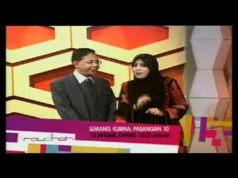 Promo Semanis Kurma – Pasangan 10 (Raudhah) @ Tv9! (12/1/2012)