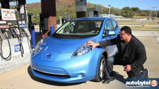 2011 Nissan LEAF Test Drive&Electric Car Review