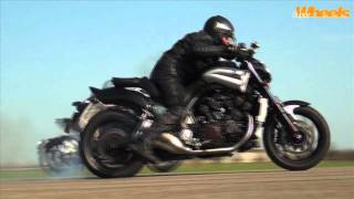 3. Diavel vs V-Max quarter mile race