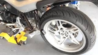 9. 2004 BMW R1150R without the stock muffler