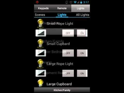 Video of Pocket Keypad for Control4®