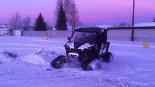 9. First 2014 Can-am Maverick MAX with Tracks