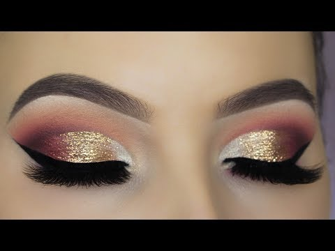 Glitter Glam Eye Makeup Tutorial