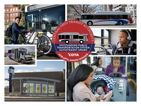 Central Ohio Transit Authority- COTA Named Top Public Transportation System In The U.S.
