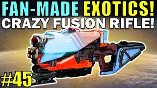 Benjamin's Deviant Art: http://destinywarlock.deviantart.com Micheal's Deviant Art: http://rageblade66.deviantart.comPart 44: https://www.youtube.com/watch?v=JZhqEVlwFlgIn the 45th Exotic Concepts video we are going over a bunch more awesome community exotic weapon concepts, including a crazy fusion Rifle concept! Bungie should definitely implement ideas like these into Destiny in future DLC!Destiny needs to be improved through the Loot System, rather than just small chunks of PvE or PvP Content! We finally got a lot more content with the new Rise of Iron expansion, and new exotics were definitely be added with that DLC, and future live updates like The Dawning, and the new Age of Triumph Update, eventually leading to Destiny 2!--- Official Merch: https://shop.bbtv.com/collections/kackishd--- My Twitter: https://twitter.com/RickKackis--- My Twitch Channel: http://www.twitch.tv/kackishd/profile