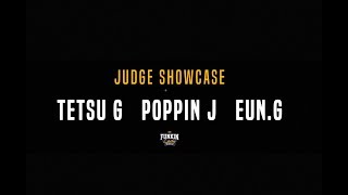 Tetsu-G, Poppin J, Eun-G – Funkin'lady KOREA 2018 JUDGE  SHOWCASE
