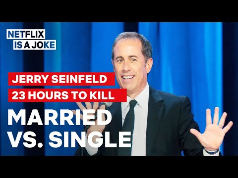 Jerry Seinfeld Compares Married Men To Game Show Losers | Netflix Is A Joke