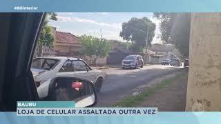 Bauru: bandidos roubaram celulares de uma loja e fogem pela Rodovia Marechal Rondon