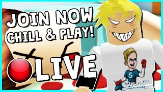• MURDER MYSTERY & MORE!   ROBLOX LIVESTREAM   COME HANG OUT!