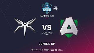 Alliance vs Mineski, ESL  One Hamburg, bo2, game 1 [eiritel & lum1Sit]