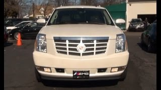 2008 Cadillac Escalade ESV White Diamond