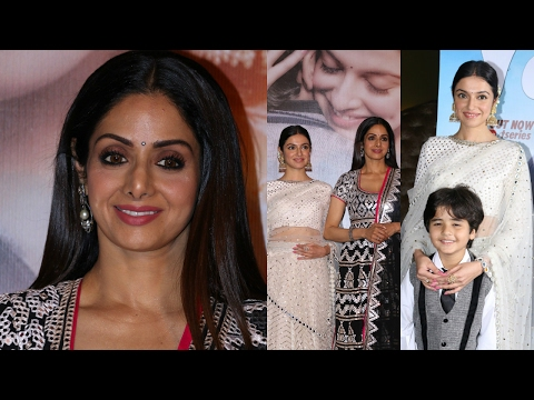 Sridevi At Kabhi Yaadon Mein Album Launch With Divya Khosla Kumar