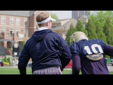 Video: #GTSpring18: Mic'd Up with Coach Shiel Wood