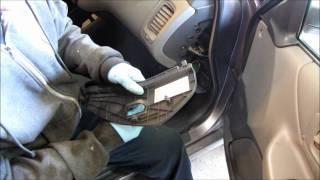 9. Clearing Honda Accord check engine light.