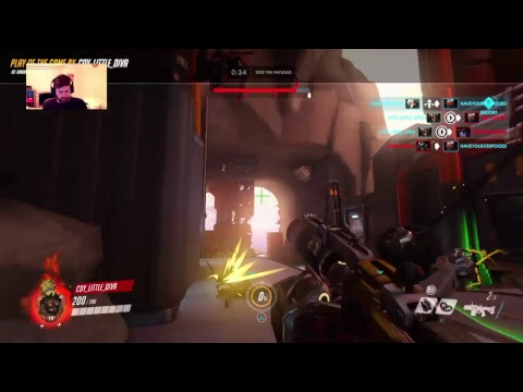 |||Overwatch LIVE [PS4 Stream]||| - Saturday Night Shenanigans Stream!! (Nik's POV)