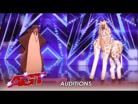 Sethward: This FAILED Act Is The Gift That Keeps On Giving! | America's Got Talent 2019