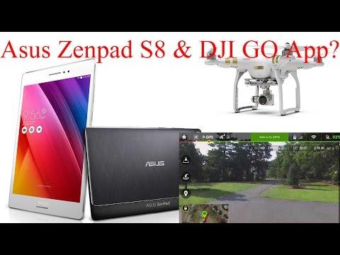 ASUS ZenPad S 8.0 & DJI Go App - TESTED