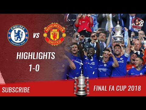 🏆 2017/18 - Final FA Cup 🏆 Chelsea FC vs Manchester United 1-0 All Highlights | HD