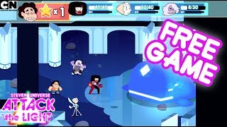 Get Steven Universe: Attack the Light for FREE just by watching the Cartoon Network App! Download Now!STEVEN UNIVERSE: ATTACK THE LIGHT: http://bit.ly/1DrAtpQCN GAMES: http://bit.ly/CNGamesSUBSCRIBE: http://bit.ly/109Y6wqWATCH MORE: http://bit.ly/1RBYuNiAbout Cartoon Network:Welcome to the Cartoon Network YouTube Channel, the destination for all of your favorite cartoons and videos. Watch clips from shows like Teen Titans Go!, Steven Universe, Clarence, Adventure Time, Uncle Grandpa, The Amazing World of Gumball and more!Connect with Cartoon Network Online:Visit Cartoon Network WEBSITE: http://bit.ly/90omi9Like Cartoon Network on FACEBOOK: http://on.fb.me/SULxhQFollow Cartoon Network on TWITTER: http://bit.ly/XqeBXfFollow Cartoon network on TUMBLR: http://bit.ly/1B3nUQFGET STEVEN UNIVERSE: ATTACK THE LIGHT FOR FREE!https://youtu.be/FAMrMvOxa-I