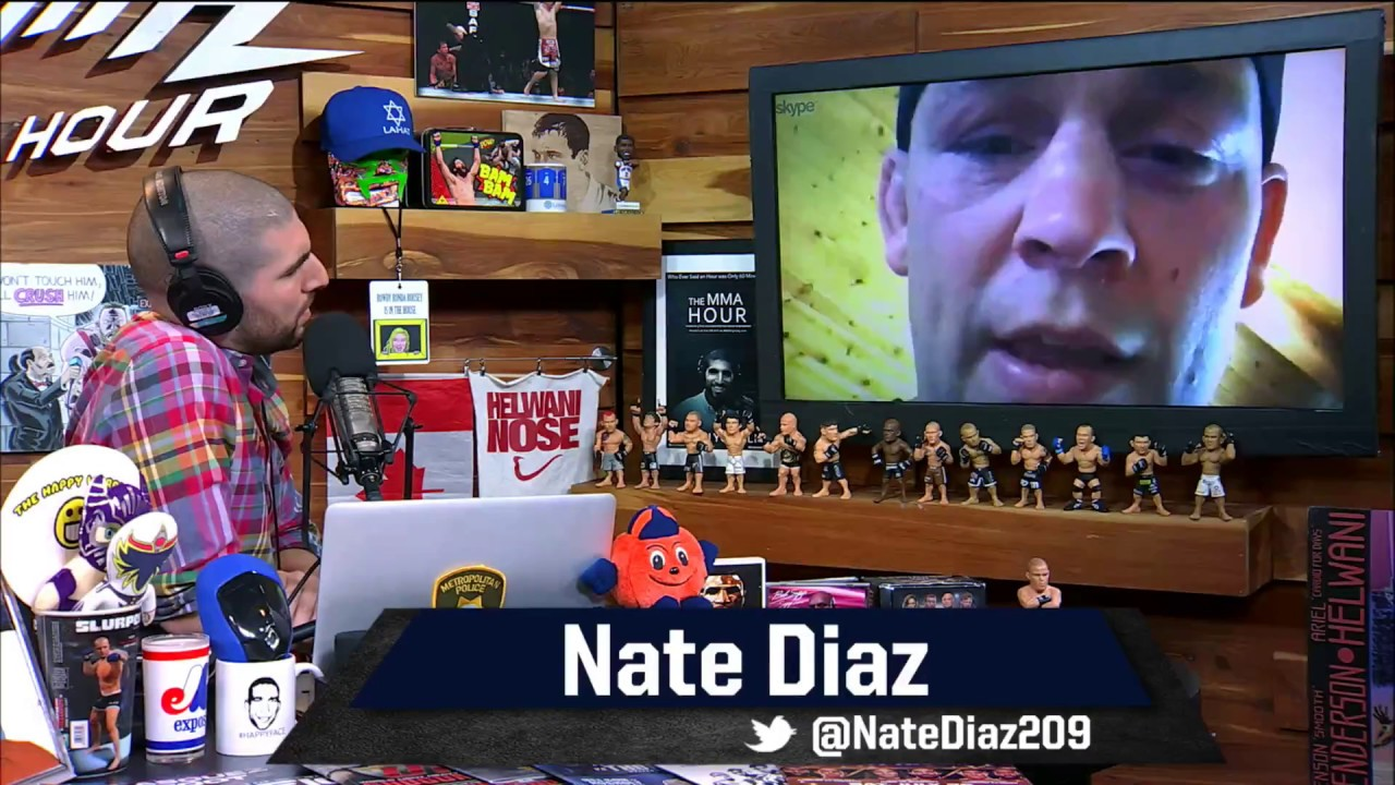 Special Episode of The MMA Hour With Nate Diaz – MMA Fighting