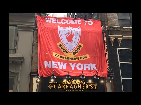 Liverpool V Man City Countdown To Kick-Off LIVE At Carragher's New York
