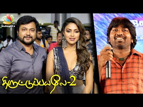 Video Vijay Sethupathi, Amala Paul at Thiruttu Payaley 2 Audio Launch | Bobby Simha Movie download in MP3, 3GP, MP4, WEBM, AVI, FLV January 2017