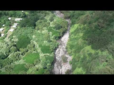 Gov. Ige & Maui Mayor Arakawa conduct aerial survey of flood damage on Maui