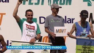 Corrida em comemoração ao aniversário de Santa Cruz do Rio Pardo reúne mais de 700 participantes