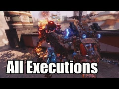 Titanfall 2: ALL Executions, Terminations (Monarch