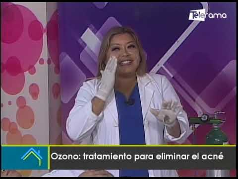 Ozono: tratamiento para eliminar el acné