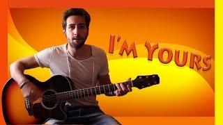 """Tutorial Chitarra ➔ """"I'm Yours"""" - Jason Mraz [Accordi Facili ITA]"""