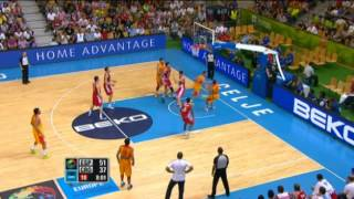 Highlights Spain-Croatia EuroBasket 2013