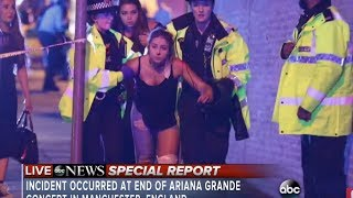 Ariana Grande concert explosion at Manchester  | At least 19 dead  in attack Video