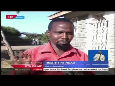 9 year old saved from early marriage in Kajiado