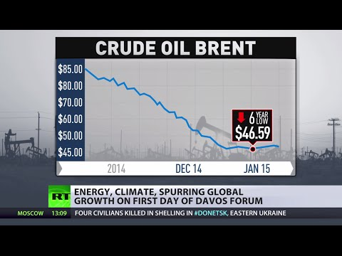 oil - The Iraqi energy minister has just said in Davos that oil prices have bottomed out. For more RT is joined by financial journalist and author, founder of the Commodity Discovery investment Fund;...