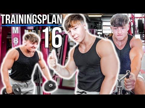 Mein kompletter Trainingsplan!