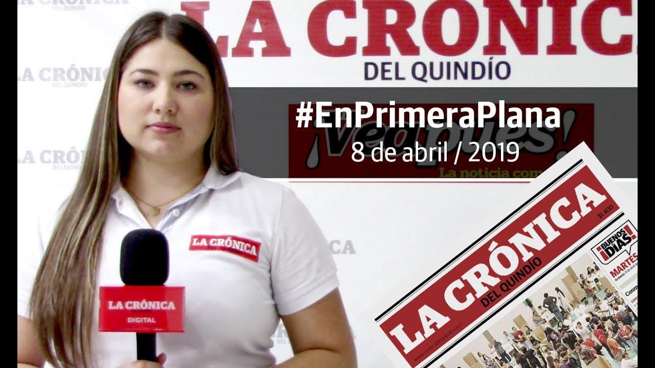 En Primera Plana: lo que será noticia este martes 9 de abril