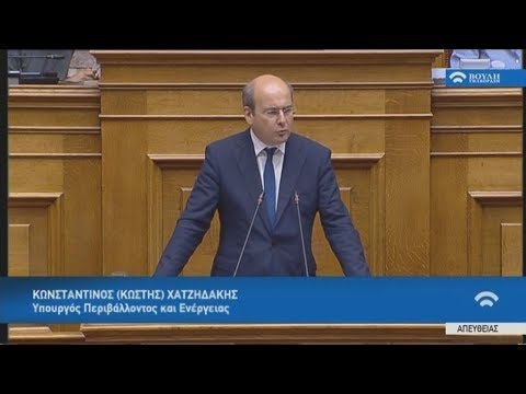 Κ.Χατζηδάκης: Επωφελείς εθνικά και οικονομικά οι συμβάσεις για τους υδρογονάνθρακες