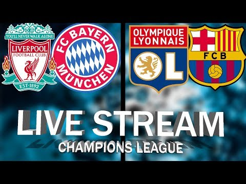 LIVE-STREAM | CHAMPIONS LEAGUE LIVERPOOL Vs BAYERN MUNCHEN & LYON Vs BARCELONA | LIVE COMMENTARY