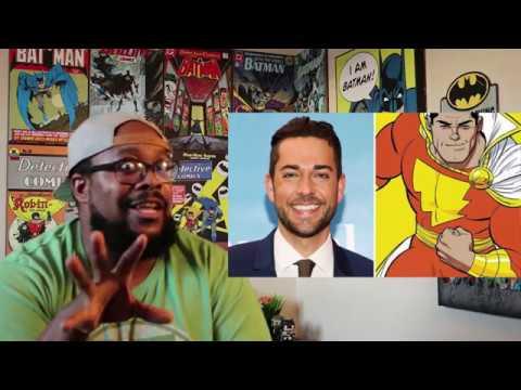 DC's Shazam will star Zachary Levi!!