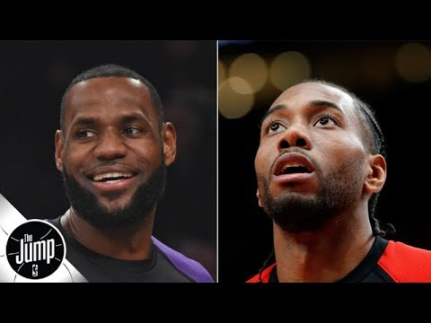 Video: NBA 2K20 ratings: LeBron, Kawhi tied for the top spot | The Jump