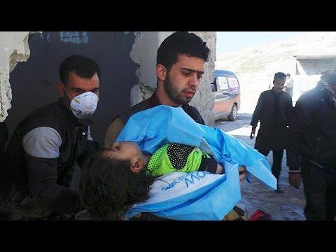 Αποτροπιασμό εκφράζει η Δύση για τη νέα επίθεση με χημικά στην Συρία